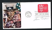 Ike Rude (d. 1985) signed autograph auto First Day Postal Cover FDC Rodeo HOF
