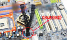 Motherboard HD Audio 9-Pin 1 Female to 2 Male Y Splitter Cable Lead Wire