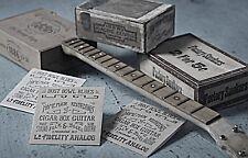 1880's - 1930's Delta Blues Music 3 string Cigar Box Bottleneck slide guitar