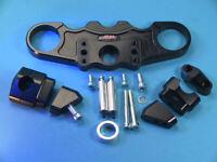 ABM Superbike Booster Gabelbrücke Kawasaki ZX-12 R (ZXT20A)   02-ff   schwarz