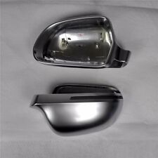 for Audi A5 S5 07-09 car mirror cover cap housing electroplating alu matt silver