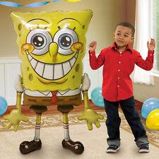 "60"" SpongeBob SquarePants Airwalker Foil Balloon Birthday Decoration Party"