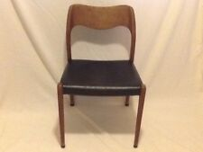 Moller Teak Dining Chair Mid Century Modern Danish Modern Designer Read Descript