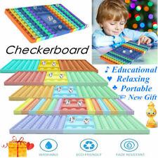 NEU Push-PopIt Fidget Bubble Rainbow Pops Trend Spielzeug Toy Anti Stress TikTok