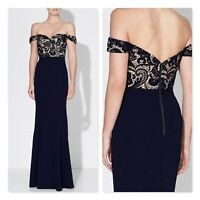 LOVE HONOR Womens Size 8 / US 8 Elana Maxi Lace Gown Dress RRP$350