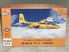 """Pro Resin 1/72 Scale Temco TT-1 """"Pinto"""", U.S. Navy Jet Primary Trainer"""