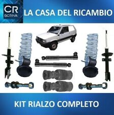 KIT RIALZO FIAT PANDA 4X4(141) 4 AMMORTIZZATORI + MOLLE + TAMPONI + BULLONI
