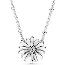 Pandora Pandora Pavé Daisy Flower Collier Necklace