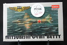 XJ052 ACADEMY 1/144 maquette avion 4409 9 Mitsubishi G4 M1 Betty WWII 50ème Ann