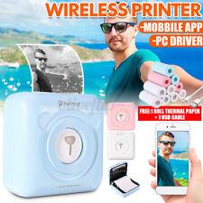 PeriPage Fotodrucker Wireless Pocket Photo Printe Foto Drucker Thermodrucker