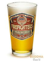 Erazor Bits DENIM FADE FIREFIGHTER - Set of 2 - Large Pint Glasses 16oz Drinkwar