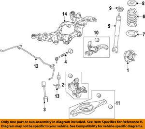 FORD OEM Rear-Hub & Bearing Assembly BT4Z1104B