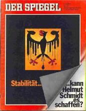 SPIEGEL 50/1972 Helmut Schmidt, Wirtschafts- und Finanzminister