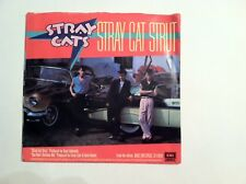 CLASSIC - STRAY CATS - STRAY CAT STRUT -(45 RPM + PIC. SLEEVE) (ORIGINAL)  VG++