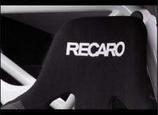 2x RECARO Flock seat logos, Easy iron-on