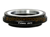 39mm M39 L39 Lens to Sony E-Mount a6300 a6000 a5100 a5000 a3500 a3000 Adapter