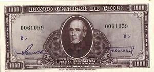 Chili  Chile  1000 pesos 1947  XF+