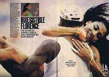 Coupure de presse Clipping 1988 Florence Griffith-Joyner  (4 pages)