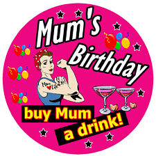 Drôle de carte mère Anniversaire Fête Mères Maman MAM Mamie Nanny Baggy VAG M34