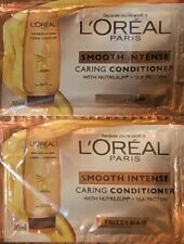 L'OREAL PARIS SMOOTH INTENSE CARING CONDITIONER 2x10ML SACHETS