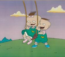 Rugrats Prod Cel #A6 Klasky Csupo  1991+ Twins Lil and Phil - Nickelodeon