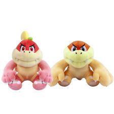 "Super Mario Bros Boom Boom Pom Pom & Bun Bun Plush Doll Stuffed Figure Toy 7"""