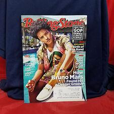 BRUNO MARS Rolling Stone Magazine ISSUE 1274 November 17 2016 Bob Dylan The Band