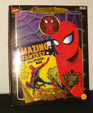 MARVEL Famous Cover Series Collection__SPIDER-MAN figure with Fabric Costume_MIB