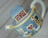 Vintage Noah's Ark Certified International Susan Winget Ceramic Tea/Coffee Pot