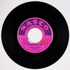 WARREN STORM: Birmingham Jail NASCO Rock R&B 45 Super HEAR