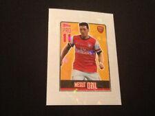 #173 Mesut Ozil Arsenal Topps Premier League 2014 sticker BRAZIL ED Pro11