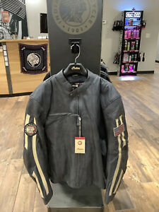 Indian Motorcycle Perforated Route Jacket (2XL)