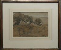 HEYWOOD HARDY 1842-1933 ORIGINAL LANDSCAPE DATED 1872 - WITH PROVENANCE