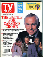TV Guide Magazine June 29-July 5 1991 Battle For Carson's Crown EX 022916jhe