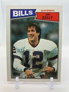 1987 Topps #362 JIM KELLY Rookie Card RC Bills