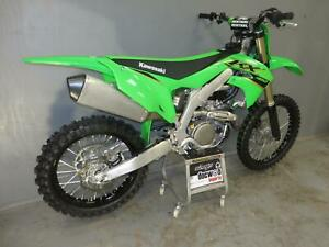 Kawasaki KXF 450 2022,only used for 35 minutes from new,UK bike,MINT condition