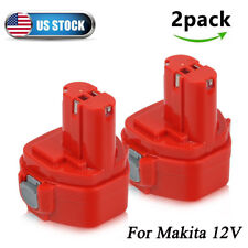 12V For Makita 1200 1220 1201 PA12 1222 1233 192598-2 Cordless Tools Battery 2Ps