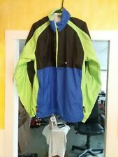 VTG 90s HIND Multicolor Windbreaker Nylon Half Zip Pullover Jacket Mens X Large