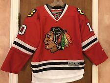 Reebok Nhl Chicago Blackhawks Sharp #10 Hockey Official Jersey Youth Small