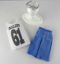 Barbie .. Fashionista Ken Model Muse .. Shorts Tank Top Sunglasses Malibu Avenue