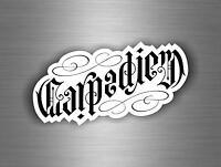 Sticker aufkleber tuning jdm motorrad auto biker bomb carpe diem carpediem r1