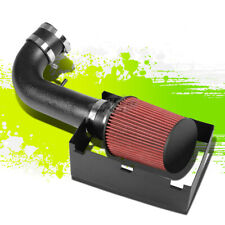 BLACK COLD AIR INTAKE PIPE&HEAT SHIELD FOR 05-10 300C/CHARGER/SRT8 5.7-6.1 V8