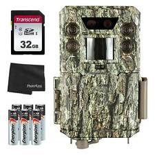 Bushnell 30MP Core DS Low-Glow Trail Cam + 32GB SD Card + 8 AA Batteries & Cloth