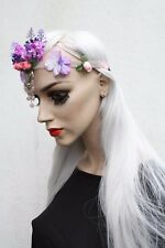 Fairy Princess Flower Crown Hippy Grunge Indie Plait Headband Pastel Goth