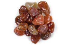 "1 lb Wholesale Tumbled Carnelian - ""A"" Grade - Crystal Healing, Reiki, Wicca"