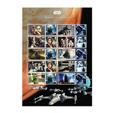 Z06AT090 Großbritannien Great Britain 2015 Star Wars (tm) Collector Sheet