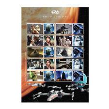Z06AT090 Großbritannien Great Britain 2015 Star Wars (tm) Collector Sheet