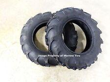TWO 6-12 Carlisle Tru Power Tractor Lug Tires 4 ply Tubeless 5233C3