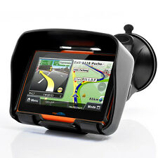 "4.3"" Touch Screen Moto Bluetooth GPS NAVIGATORE Bluetooth Impermeabile 8GB+Map"