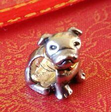 Charm Dog Bead Charm Cute Dog Charm Fits European Charm Bracelets CH144